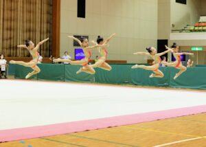 四国ジュニア新体操選手権(団体徒手)