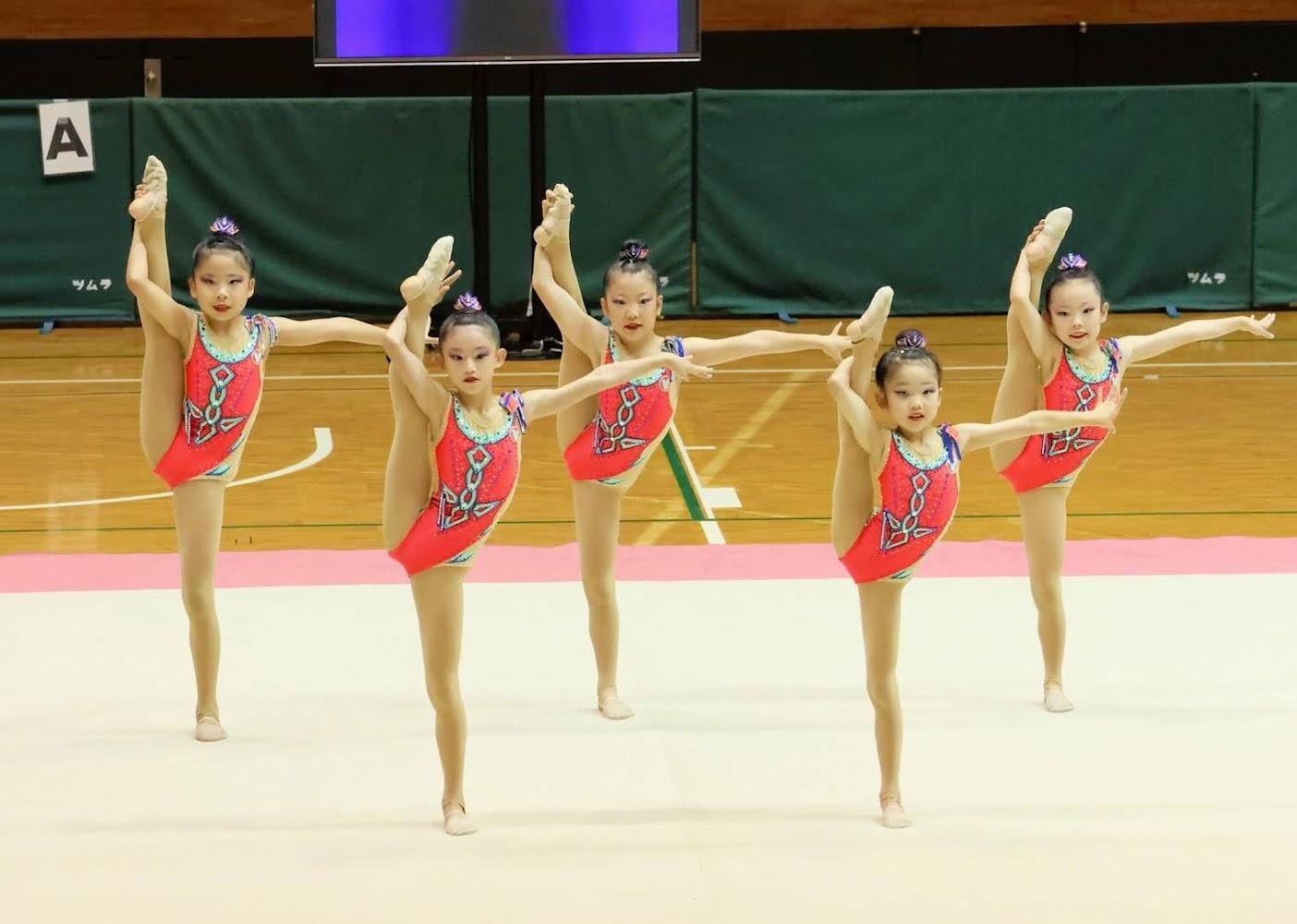 四国ジュニア新体操選手権大会(団体徒手)